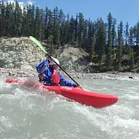 White water kayak